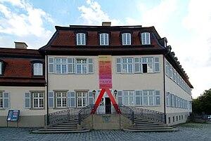 Akademie Schloss Solitude - Main entrance to Akademie Schloss Solitude.