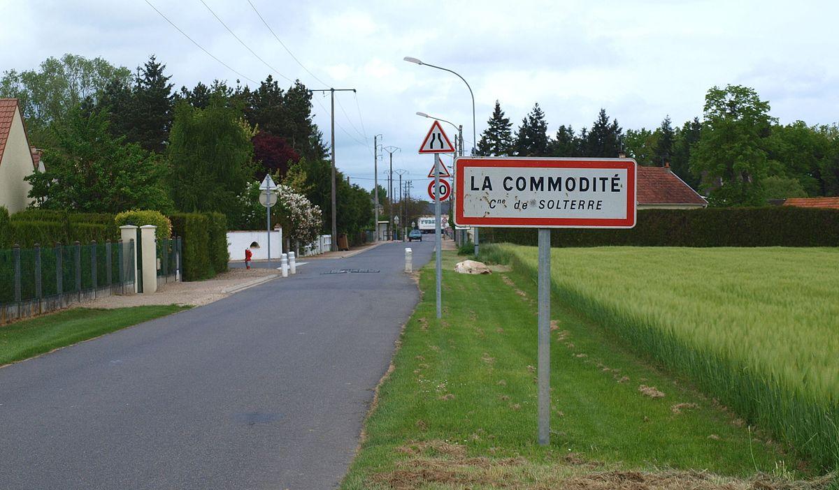La Commodité — Wiktionnaire 6d8bd1415225