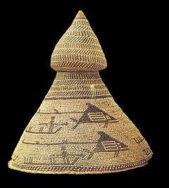 Sombrero de jefe de balleneros Nutka (M. América Inv.13570) 02black