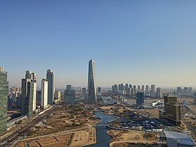 Songdo IBD Incheon 2014 HDR 2.jpg