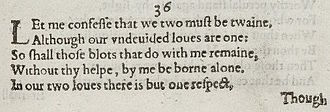 Sonnet 36 - Image: Sonnet 36 1609
