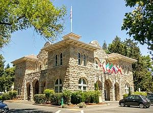 Sonoma, California - Sonoma City Hall in 2016