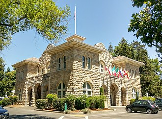 Sonoma, California - Sonoma City Hall in 2016