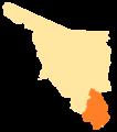 Sonora Municipios VII Distrito Electoral Federal.png
