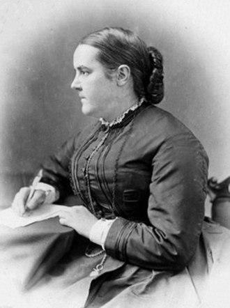 Edinburgh Seven - Sophia Jex-Blake, leader of the Edinburgh Seven