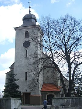 Sosnicowice church tower.jpg