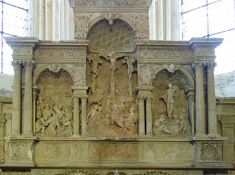 Soudron (Marne, France): 16th century altarpiece