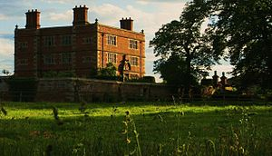 Soulton Hall -  View of the Present Manor House of 1556 at Soulton