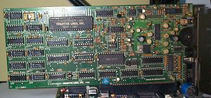 Sound Blaster - Sound Blaster 1.5 (CT1320C); C/MS chip sockets (labeled U14, U15) seem empty.