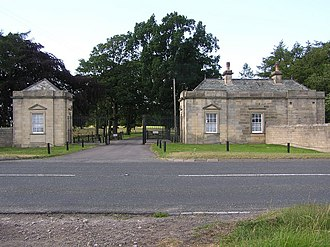 Streatlam Castle - Image: South Lodge , Streatlam Park geograph.org.uk 201479