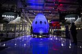 SpaceX Dragon v2 (Crew) unveiled at Hawthorne facility (16166773474).jpg