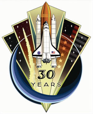 Space Shuttle Program Commemorative Patch, as ...