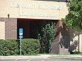 Spanish Fork Readiness Center sign on building, Jul 15.jpg