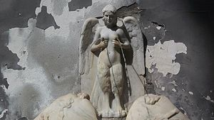 Parthenope (Siren) - The Fountain of the Spinacorona, a depiction of Parthenope in Naples.