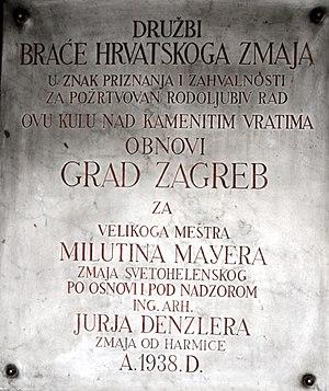 "Brethren of the Croatian Dragon - Družba ""Braća hrvatskoga zmaja"""
