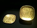 Square lobed gold dishes from the Belitung shipwreck, ArtScience Museum, Singapore - 20110319.jpg