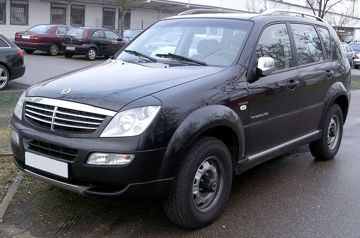 ssangyong rexton wikidata. Black Bedroom Furniture Sets. Home Design Ideas