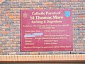 St.Thomas More Catholic Church Sign, Barking - geograph.org.uk - 1210685.jpg