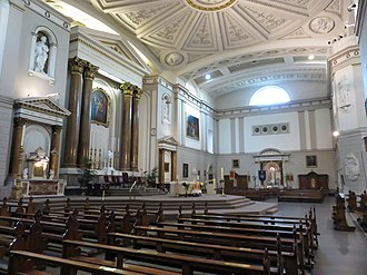 St Andrew's Church, Westland Row, Dublin - Image: St. Andrew's Church Dublin interior 2018c