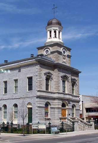 St. Catharines - The Old Courthouse, at the corner of James and King streets