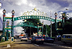St. James, Port of Spain, Trinidad, in 1998.