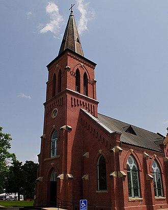 High Hill, Texas - St. Mary Catholic Church in High Hill, Texas.