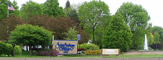 St. Anthony, Minnesota - Signage to the city