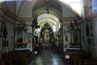 StNicholas Church (inside), 9 Kopernika street, Krakow, Poland.jpg
