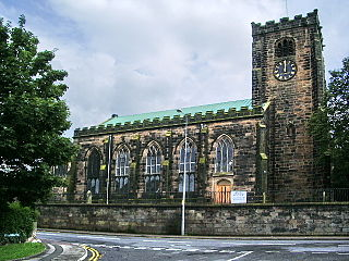 St Andrews Church, Leyland Church in Lancashire, England