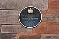 St Ann's Church, Manchester, plaque.jpg