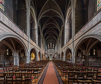 St Augustine's, Kilburn - Image: St Augustine's Church, Kilburn Interior 1, London, UK Diliff