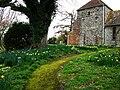 St Mary's churchyard, Bepton - geograph.org.uk - 736197.jpg