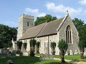 Bentley, Suffolk - Image: St Mary Bentley (geograph 3680096)