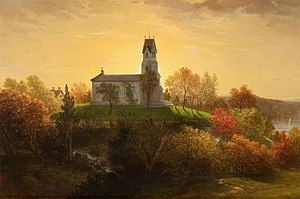 Louis Lang - Image: St Marys in the Highlands Louis Lang 1865