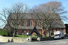 La preĝejo de St Peter, Bohemio, Hastings (IoE Code 294071).JPG