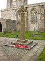 St Peter's Church, Heversham, War Memorial - geograph.org.uk - 1246706.jpg