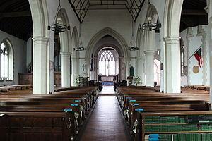 Church of St Peter & St Paul, Godalming - Church interior