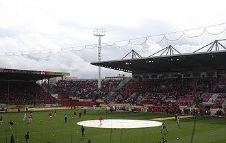 Bruchwegstadion - Image: Stadion am Bruchweg 1