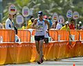 Staff Sgt. John Nunn race walks at Rio Olympic Games (29015267391).jpg