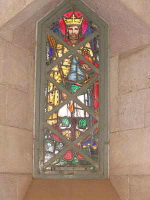 Mabel Esplin - Image: Stained Glass in the Republican Palace Museum, Khartoum, Sudan Saint Edmund