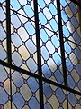 Stained glass. Staircase of Vaszary Villa. - 2 Honvéd Street, Balatonfüred.JPG