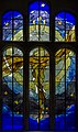 Stained glass window, St Mary's church, Newent (20284101906).jpg