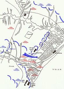 Schlacht Um Stalingrad Karte.Wikizero Angriff Auf Stalingrad