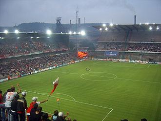 Stade Maurice Dufrasne - Image: Standard liege kaerjeng 02