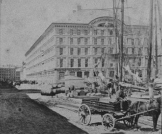 State Street Block (Boston) - Image: State Street Block Boston by Soule G90F368 037F detail 2