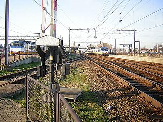 Uitgeest railway station - Image: Stationutg