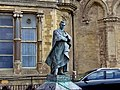 Statue of Edward VIII as Prince of Wales, Old College, Aberystwyth.jpg