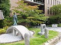 Statue of Honen in Bukkyo University 2017 c.jpg