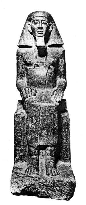 Zamonth - Image: Statue vizier CG42034 Legrain