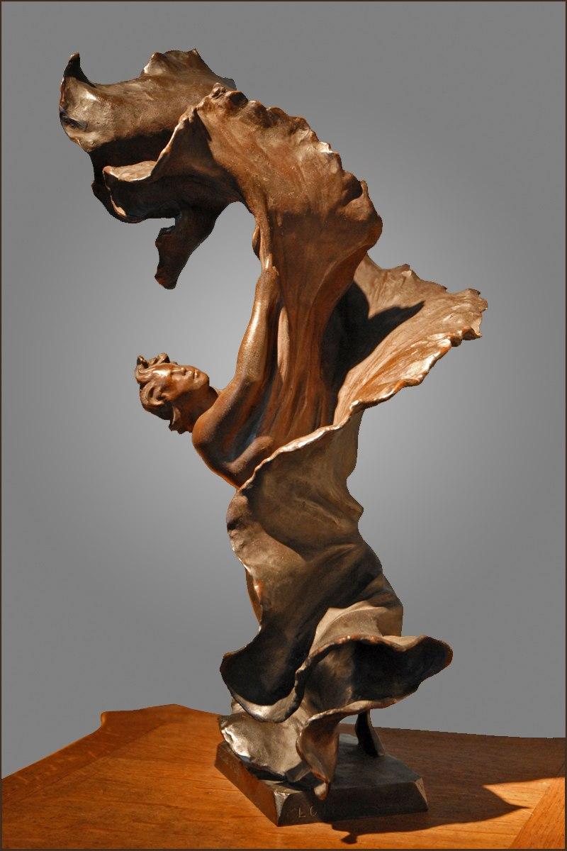 Statuette Loïe Fuller par Pierre Roche
